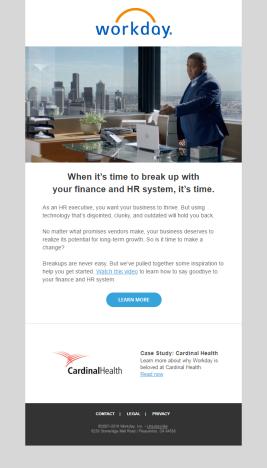 Workday - Email Nurture Program