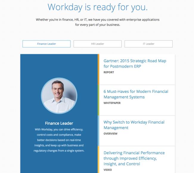 Workday - Web Copy