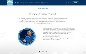 Workday - Prospective Customer Event Website Copy