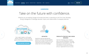Workday - Customer Event Website Copy