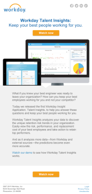 Workday - Software Update